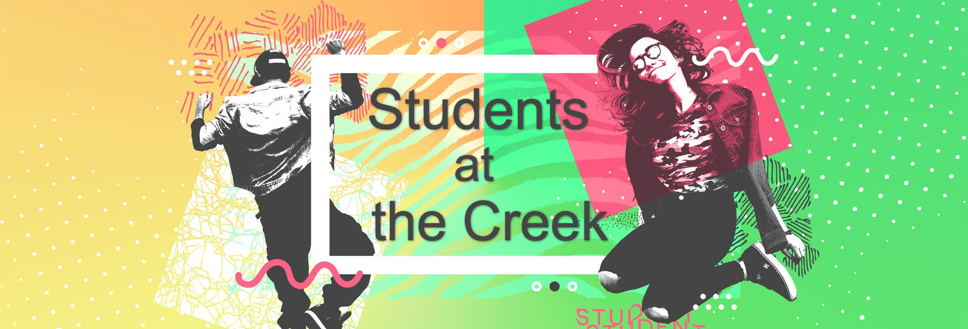 Student Ministry Church Website Banner